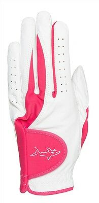 NEW Women's GREG NORMAN Mariposa Left Handed Glove (for Right Handed Golfers) M