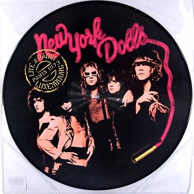New York Dolls - Live at Radio Luxembourg - Paris 1973 (Picture Disc LP) New