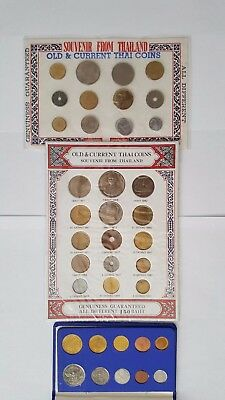 Thailand coin lot of 37