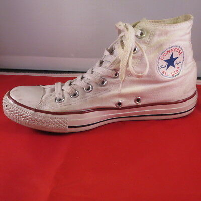 CONVERSE ALL STAR CHUCK TAYLOR White HIGH TOP Classic SNEAKERS MEN'S M 7 W 9