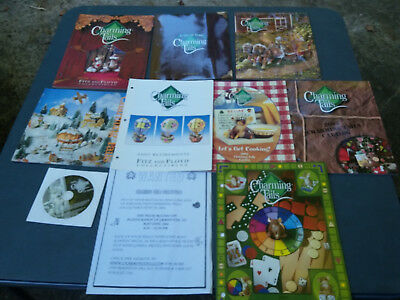 Harmony Kingdom Charming Tails Catalogs & More! 2 Signed By Dean Griff! & Dvd!