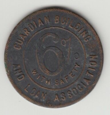 Guardian Building 6% Good Luck Friendship Of The Don't Worry Swaskika Token Old