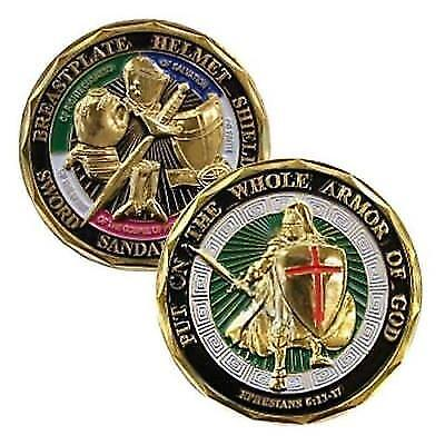 Challenge Coin - Put on the Whole Armor of God New