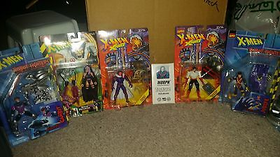 Huge Large Figure Lot of 6 Marvel X-men Classic Morph Exclusive Jubilee Gambit
