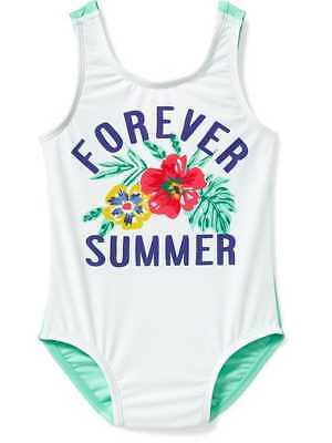 NWT OLD NAVY GIRLS SWIMSUIT SWIM  one-piece  Forever Summer 3T