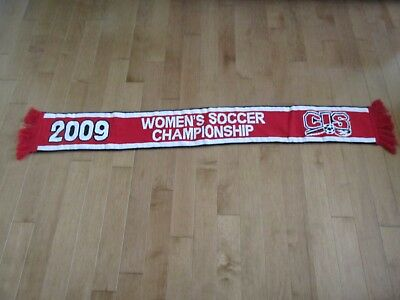 CANADIAN Interuniversity SPORT CIS 2009 WOMEN'S SOCCER CHAMPIONSHIP SCARF