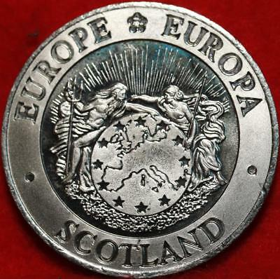 Uncirculated 1992 Scotland 25 ECU Europe Coinage Foreign Coin Free S/H