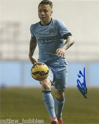 Manchester City Angelino Signed Autographed 8x10 Photo COA