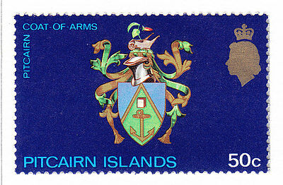 Pitcairn Island 1973 Additional Issue   set - MH
