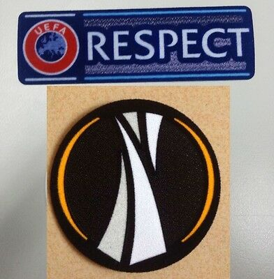 Europa League Patch Set Badges Sleeve Shirt Football 2014 2015 2016 2017 Respect