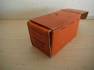 HORNBY 0 GAUGE LOCOMOTIVE TENDER RED CARD BOX ONLY No20 42007 meccano