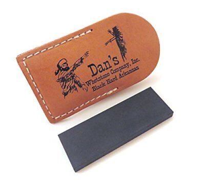 Genuine Arkansas Black Surgical (Ultra Fine) Pocket Knife Sharpening Stone