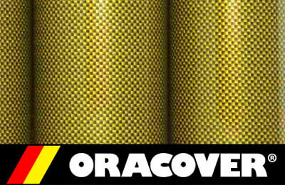 2M Oracover Carbon + Kevlar (5524098) Profilm - Iron On Film Covering, Rc Planes