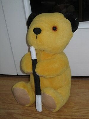 "Sooty Holding Wand 11"" Plush Sitting Super Soft Toy"