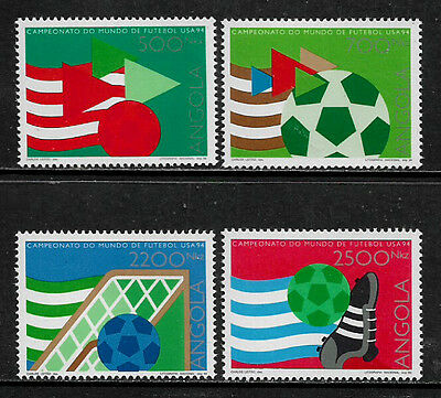Angola 902-5 Mint Never Hinged Set - 1994 World Cup Soccer