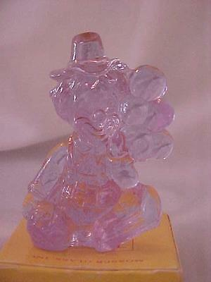 Mosser Glass Mini Miniature All The World Loves a Clown 1981 Eros