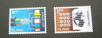 Iceland 1988 Europa. Communications sg 711/2