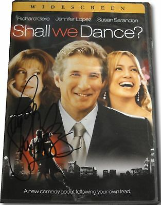 Jennifer Lopez Shall We Dance Autograph DVD Hand Signed on Plastic cover COA