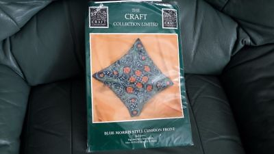 Tapestry Kit : Blue Morris Style Cushion Front