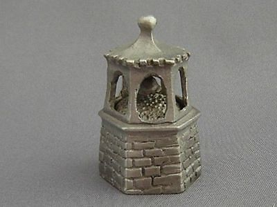 Pewter Thimble - Bell Tower