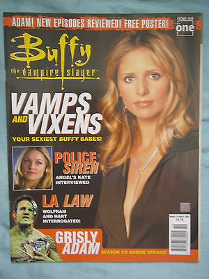 Official UK Buffy the Vampire Slayer Magazine # 19  April 2001