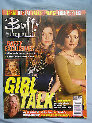 Official UK Buffy the Vampire Slayer Magazine # 32 April 2002