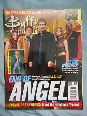 Official UK Buffy the Vampire Slayer Magazine # 36 - July 2002