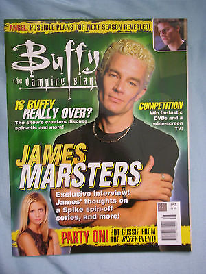 Official UK Buffy the Vampire Slayer Magazine # 48 - July 2003