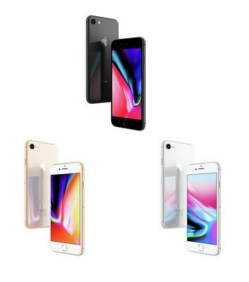 Apple iPhone 8 Sim Free Unlocked 64 / 256GB Mobile Phone - Gold / Silver / Grey