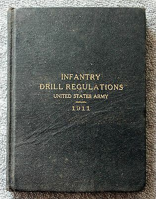 1911 INFANTRY DRILL REGULATIONS United States Army USA US Military REFERENCE 9th