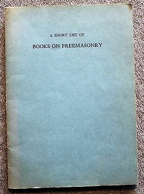 1947 BOOKS ON FREEMASONRY Masons MASONIC History GRAND LODGE Massachusetts NB