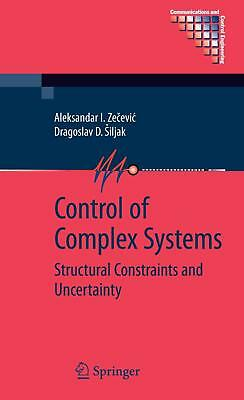 Control of Complex Systems Aleksandar I. Zecevic