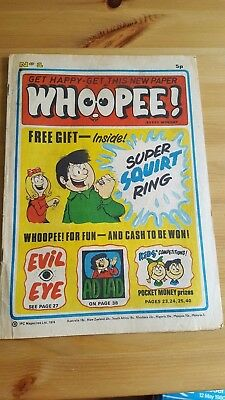 Whoopee Comic - 1st Issue 1974 Number 1