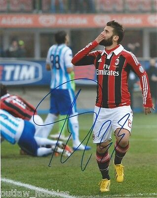 AC Milan Antonio Nocerino Autographed Signed 8x10 Photo COA