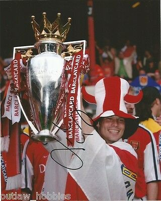 Arsenal Freddie Ljungberg Autographed Signed 8x10 Photo COA