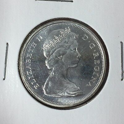 Two (2) Canadian Silver Half Dollars ($1 Face Value Total) - 80% Silver