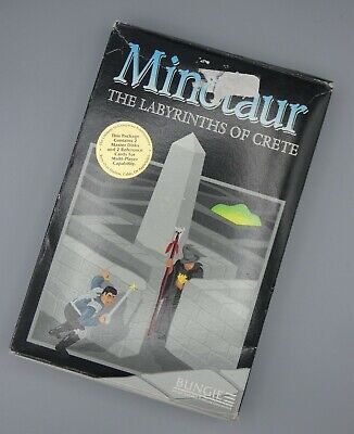 MINOTAUR: LABYRINTHS OF CRETE Rare early Bungie Mac Game with Box