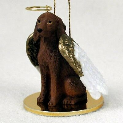 Vizsla Dog ANGEL Tiny One Ornament Figurine Statue