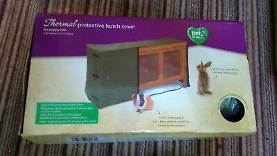 BNIB Pets at Home Thermal Protective Hutch Cover for Poppy Den RRP £30.00