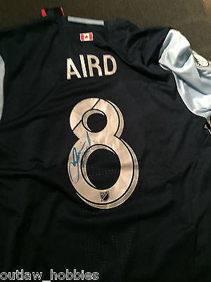Vancouver Whitecaps Fraser Aird Signed Autographed MLS Jersey COA XL BNWT