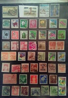 Stamps Used Mm Japan A