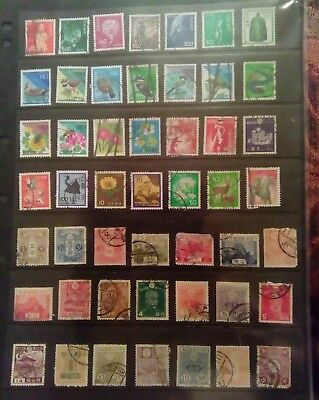 Stamps Used Mm Japan B