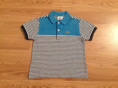 Gorgeous Boys Lacoste Polo Top 5 6 Years