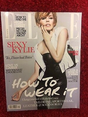 Elle Magazine UK May 2009 Kylie Minogue