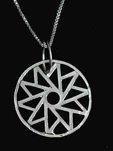 LOOK Celtic HEALING CIRCLE OF LIFE Silver charm Jewelry