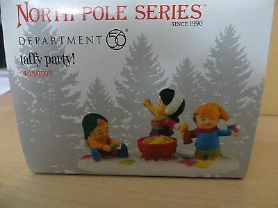 Dept 56 North Pole Taffy Party! #4050971 BRAND NEW 2016