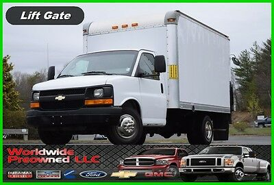 2012 Chevrolet Express Cutaway Box Truck Van 4.8L Vortec Gas Used Chevy GMC