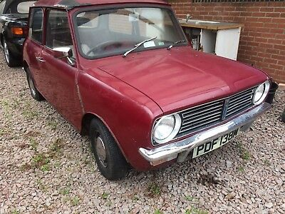 1974 Morris Mini Clubman 1 Owner From New 11k