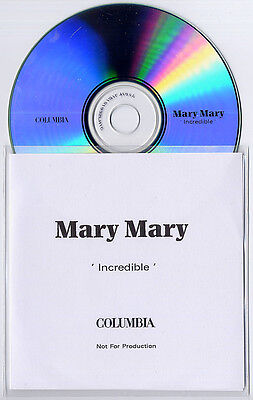 Mary Mary Incredible