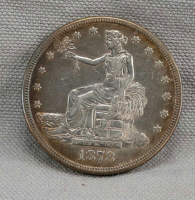 Stunning 1878-S Trade Dollar! Guaranteed Authentic! No Reserve!